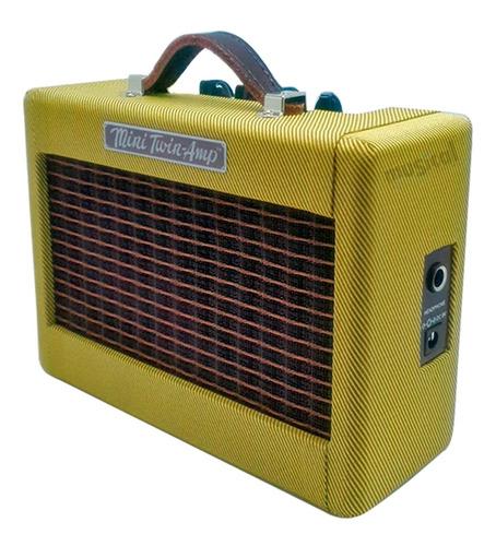 mini amplificador combo fender twin 57 vintage