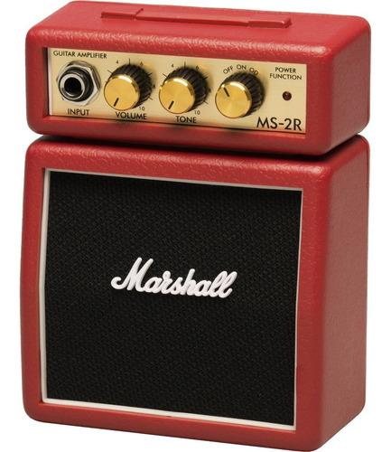 mini amplificador de guitarra  marshall ms-2 negro ¡¡¡