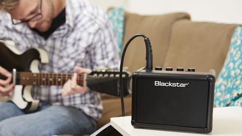 mini amplificador guitarra blackstar 3w + caixa 1x3 promoção