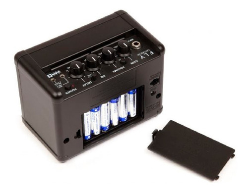 mini amplificador guitarra combo 3 watts fly 3 blackstar