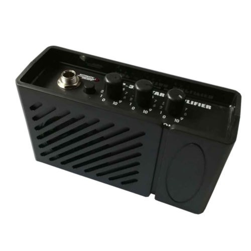 mini amplificador portatil guitarra y bajo