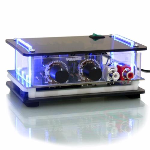 mini amplificador som ambiente potência para pc música caixa