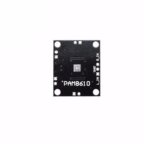 mini amplificador stereo digital pam8610 2 x 15w