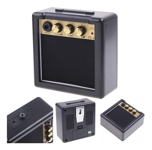 mini amplificador violão guitarra 5w portátil excelente