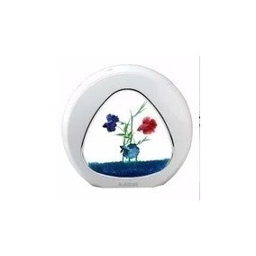 mini aquário sunsun ya-02 6 litros branco bivolt