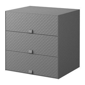 Oscuro De CajonesColor Ikea Armario 3 Pallra Mini Gris OkuXZiP