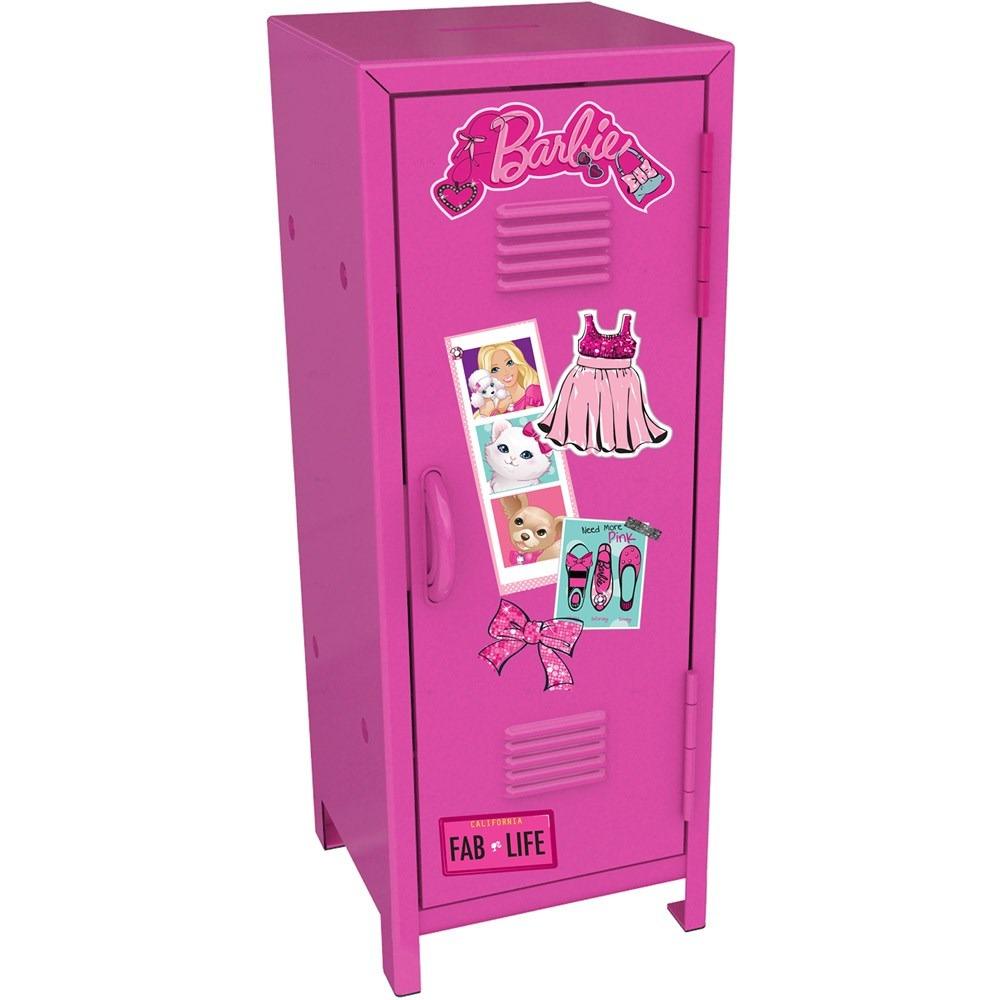 Armario Escolar Em Ingles ~ Mini Armário Escolar Da Barbie Bblo1 Intek R$ 75,64 em Mercado Livre
