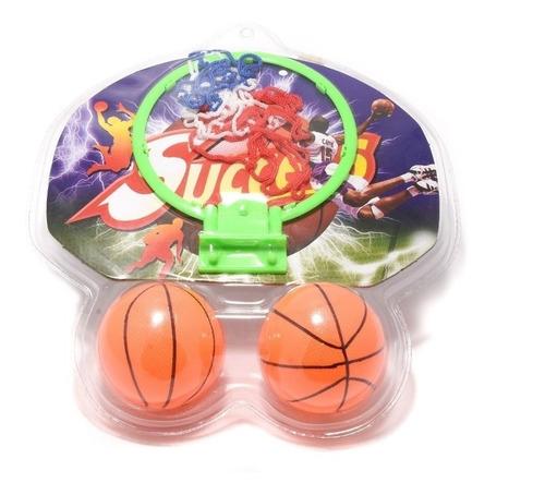 mini aro basquet infantil tablero con pelotas juguete