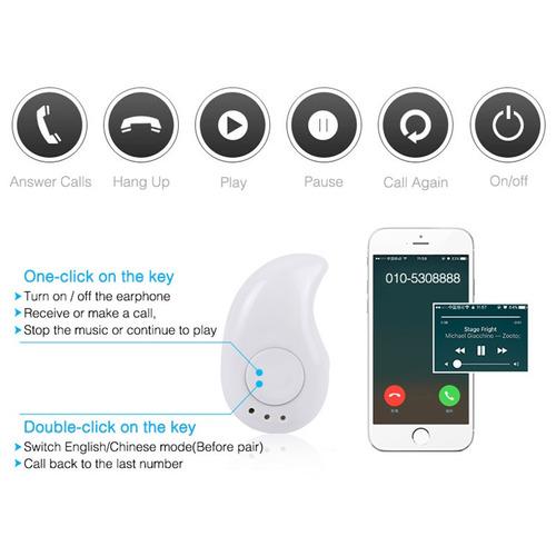mini audifono bluetooth compatible android / ios discreto