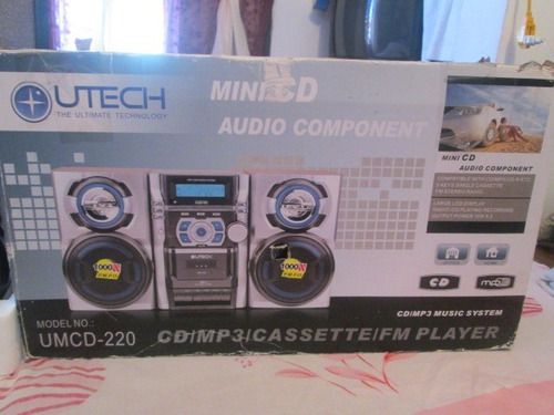 mini audio componente