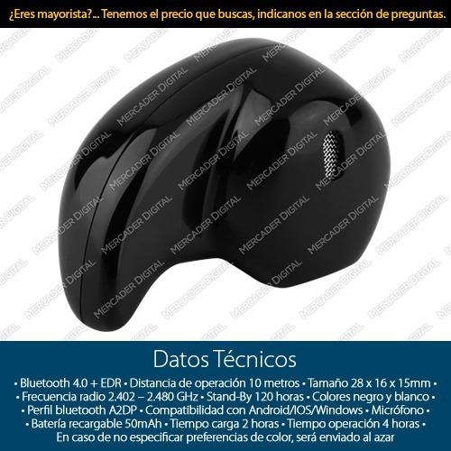 mini auricular bluetooth 4.0 audifono manos libres