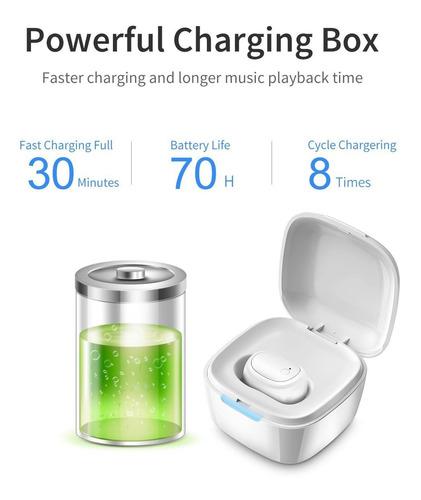 mini auricular bluetooth con caja de carga (tiempo de c...
