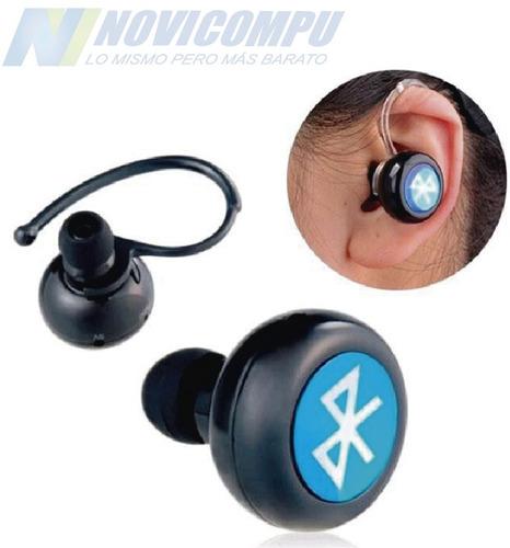 mini auricular bluetooth discreto microfono llamadas