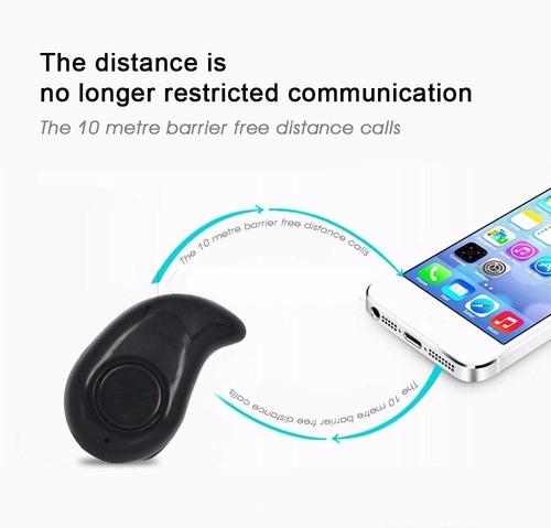 mini auricular bluetooth discreto micrófono llamadas música