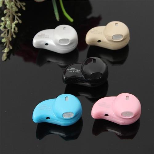 mini auricular s530 bluetooth v. 4.1 invisible manos libres