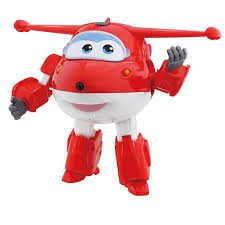 mini avião super wings jett change com som e luz