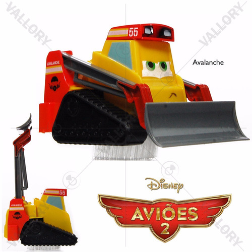 mini aviões 2 trator avalanche magic planes disney fricção