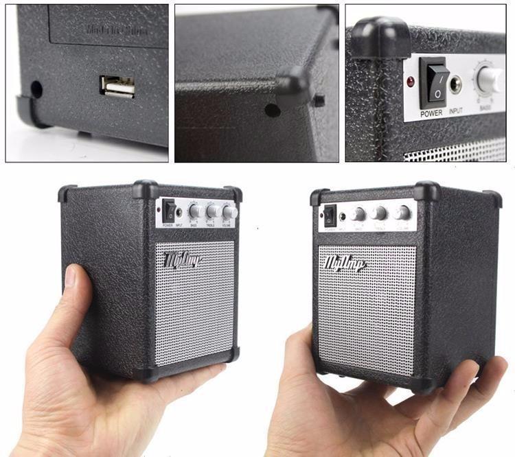 Mini Bafle Bocina Amplificado Myamp Original Retro Speaker