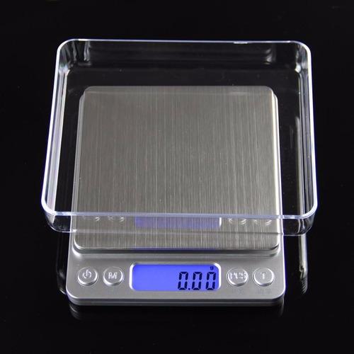 mini balança digital diamond precisão 0,01g-500g com bandeja