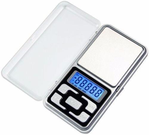 mini balança digital jóia escala 0,1g até 500g alta precisão