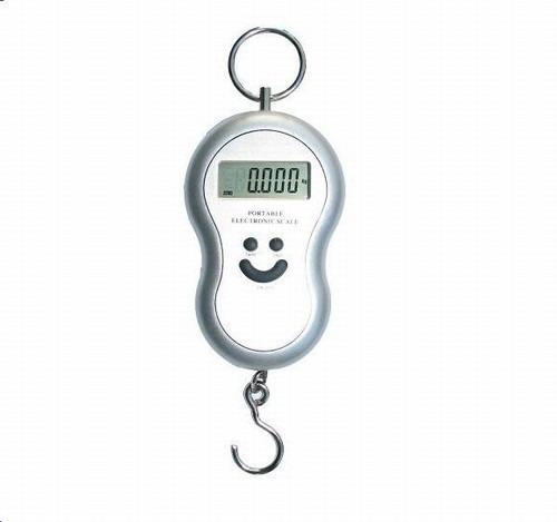 mini balança digital mao portatil gancho 01g até 40 kg mala