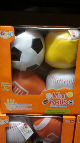 mini balls pelotas suaves marca biyu estimulación temprana