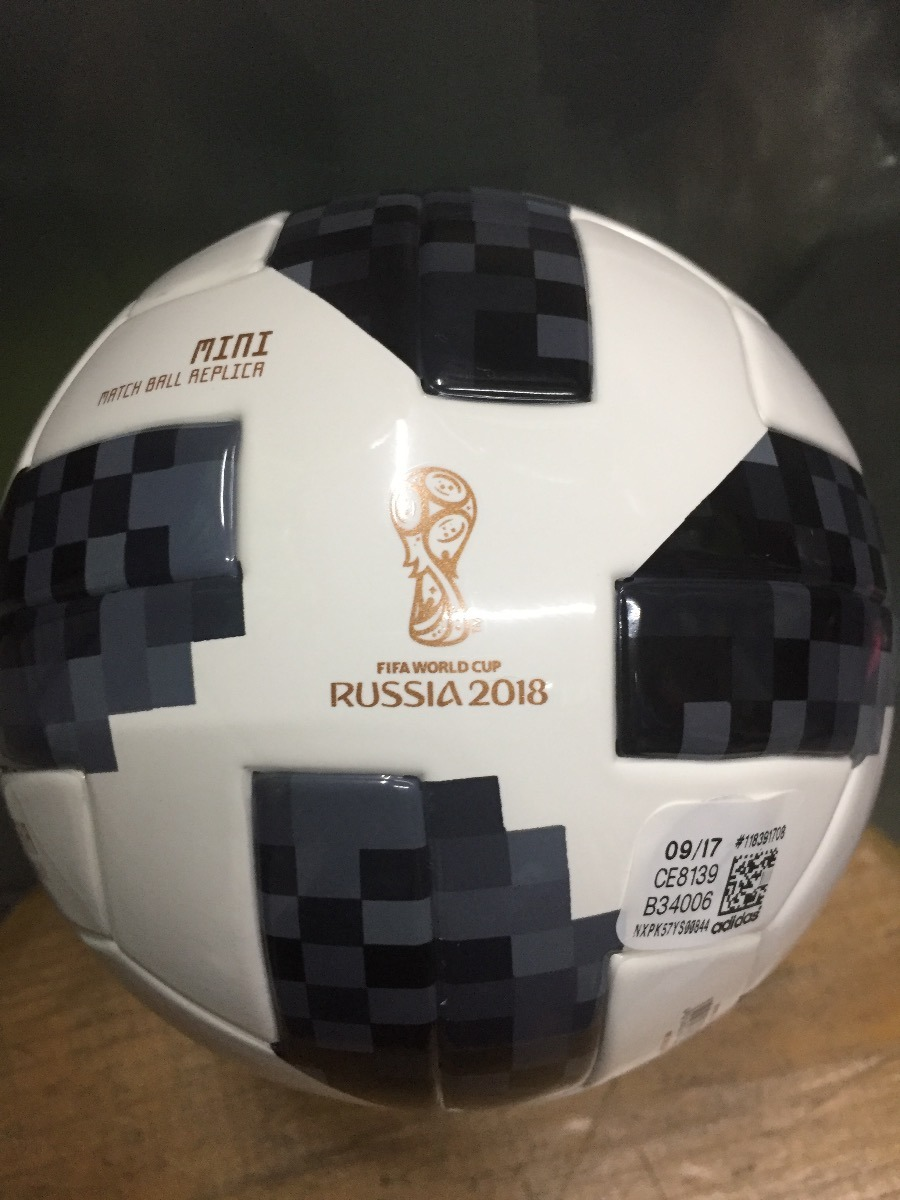 Mini Balon adidas Telstar Mundial Rusia 2018 Numero 1 -   349.00 en ... 752a077d1b376