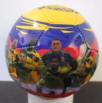 mini balon coleccion futbol golty #1 seleccion colombia 2014