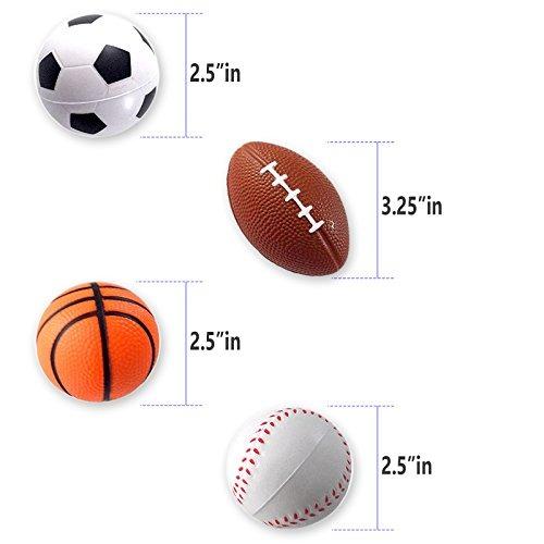 06b41122b166c Mini Balones Deportivos Para Ninos Juguete Para Fiestas