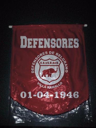 mini banderin ideal auto 18 x 14 cm defensores villa ramallo