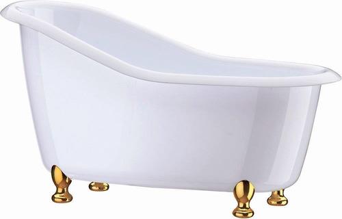 mini banheira decorativa poliestireno boccati 25x12x13 cm