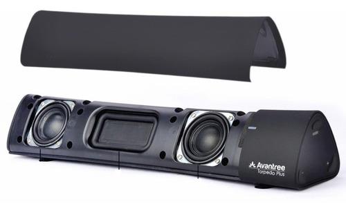 mini barra de sonido bluetooth surround 3d avantree torpedo+