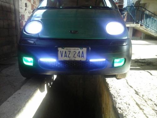 mini barra led cob 7w 17cm blanco 6000k hid carro y moto