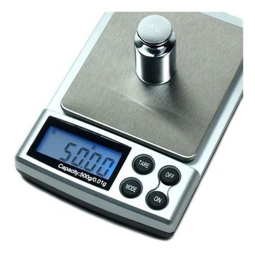 mini bascula digital gramera joyera de 0.01grs a 500grs xto