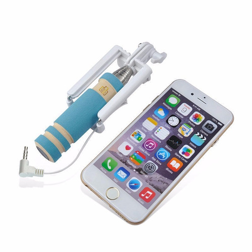mini bastón selfie para celular