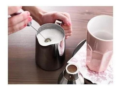mini batedor mixer .milk-shake a pilha