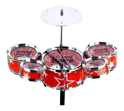 mini batería de juguete para niños jazz drum rock