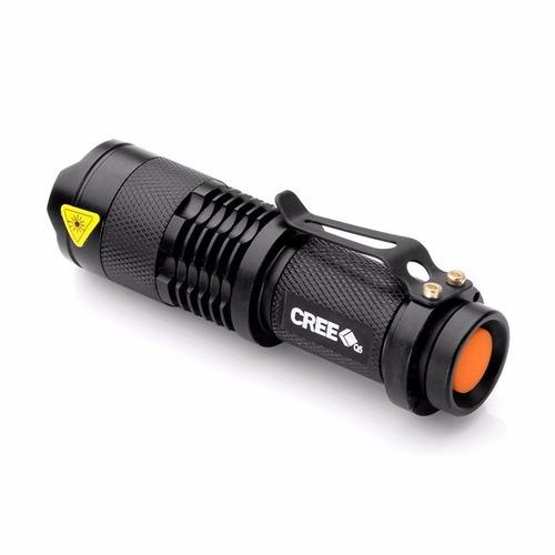 mini bateria recarregavel p/ mini lantena tatica cree 14500