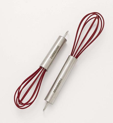 mini batidores farberware de silicona set x 2 und