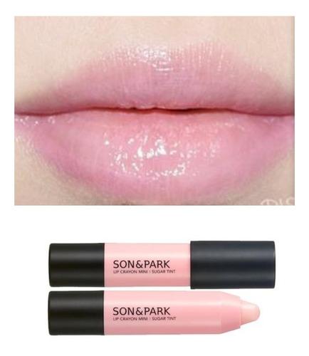 mini batom coreano son & park lip crayon