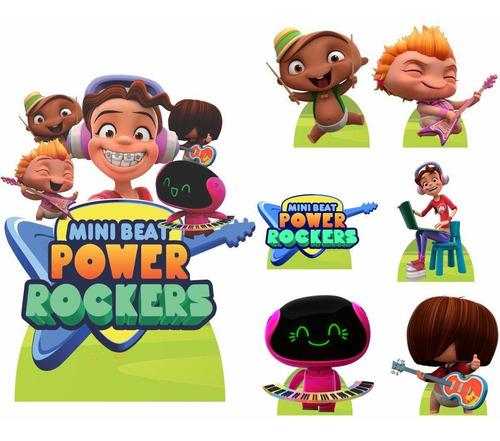 mini beat power rockers kit festa display painel 150x100