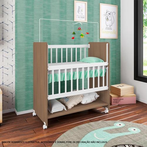 mini berço com rodízios - sleepers - soninho - montana - art in móveis