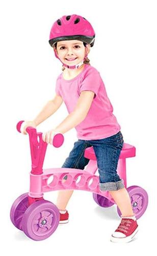 mini bici chivita mi primer vehiculo deluxe rosa y lila