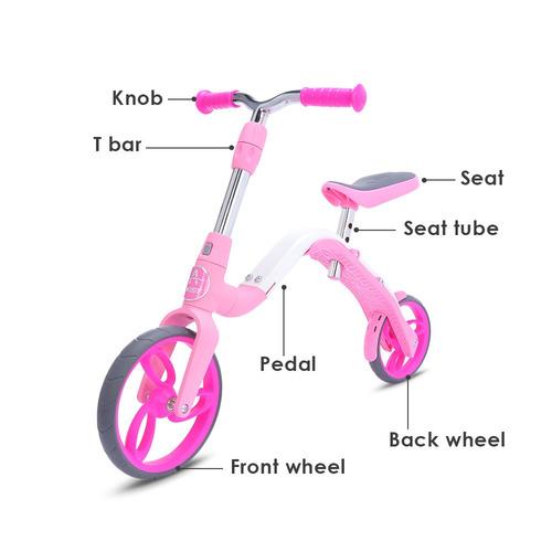 mini bicicleta aest b02 de balance