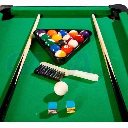 Mini Bilhar Sinuca Snooker A Maior Mesa Jogo Real - R  99 5748894f62bad