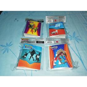 Mini Binders Originales De Pokémon Porta Cards No Taps Chipy