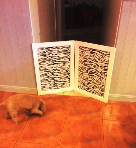 mini biombo ideal para mascotas- precio por hoja