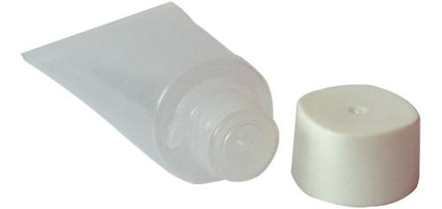 mini bisnaga plástica de 15ml (pacote c/ 70 unidades)