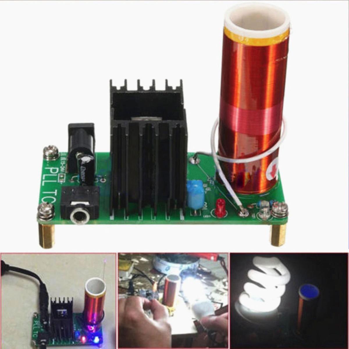 Circuito Bobina De Tesla : Mini bobina de tesla altavoz plasma ideal proyectos s en