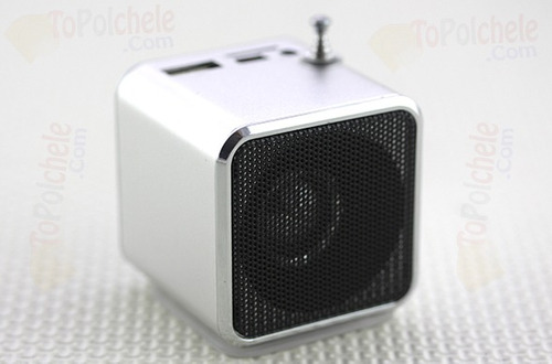 mini bocinas mp3 player con radio fm // volumen y nitidez//